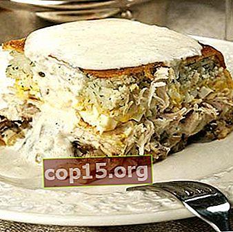 Ricette per torte di frittelle con funghi (con foto)