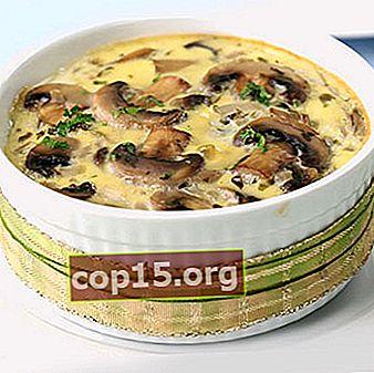 Recept för att laga svamp i en långsam spis