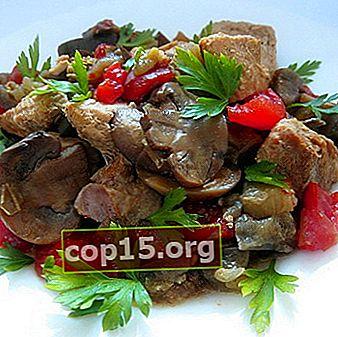 Carne con funghi secchi: ricette per il forno e il multicooker