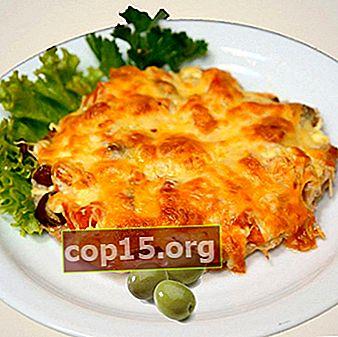 Champignon francesi con carne e verdure