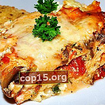 Ricette Pizza Lasagne e Funghi