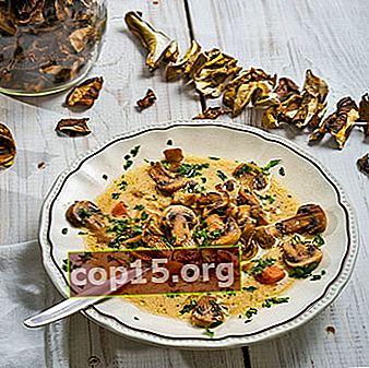 Heerlijke gedroogde paddenstoelenrecepten