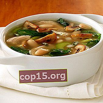 Soupes aux champignons maison: recettes
