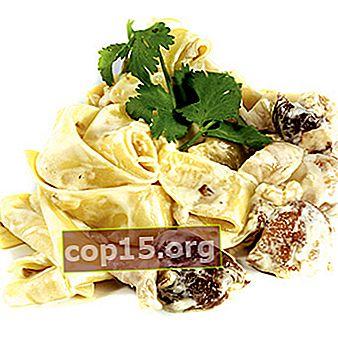 Ricette per cucinare gli spaghetti ai funghi porcini (con foto)