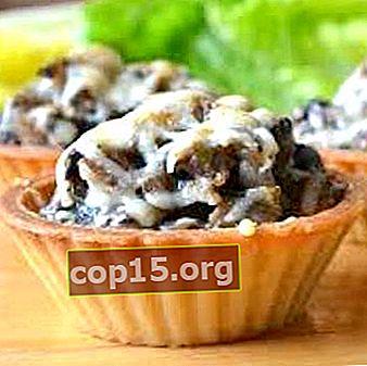 Champignontaartjes: recepten voor champignonsnacks