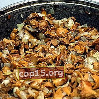 Come friggere il burro in padella con patate e cipolle