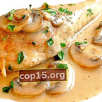 Kalkoen met champignons: recepten voor heerlijke gerechten