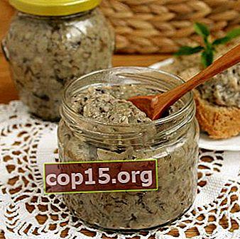 Svampkaviar från smör för vintern: steg för steg recept