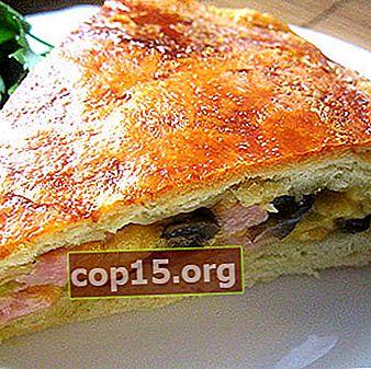Ricette per deliziosi condimenti con funghi per torte