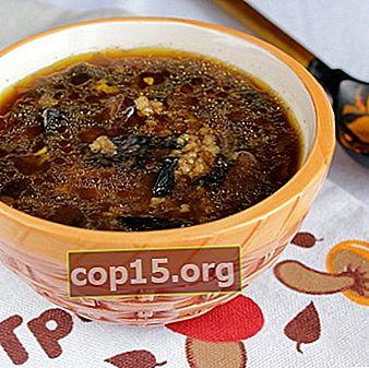 Zuppa di funghi secchi al miele: ricette per primi piatti di funghi