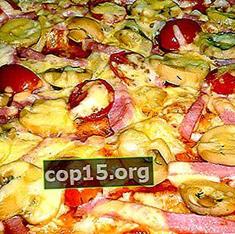 Pizza con funghi sott'aceto: ricette passo passo con foto