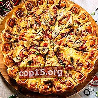 Come cucinare la pizza con carne macinata e funghi