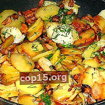 Finferli con patate cotte in padella