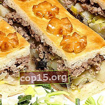 Ricette per torte chiuse con funghi (con foto)