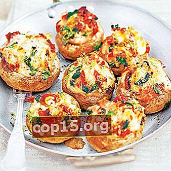 Champignon ripieni: ricette per antipasti