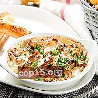 Salsa di gallinacci per tutti i piatti