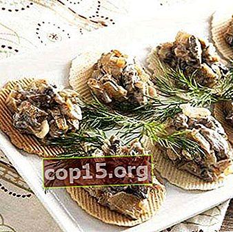 Caviale di funghi: ricette fatte in casa