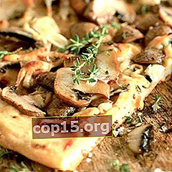 Come cucinare la pizza con i funghi porcini