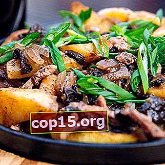 Arrosto con funghi al forno e pentola a cottura lenta