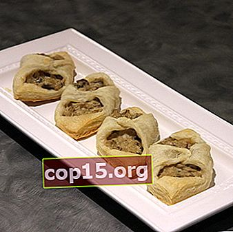 Julienne di funghi in pasta sfoglia: ricette con foto