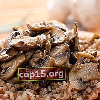 Grano saraceno con miele di agarico: ricette semplici e veloci