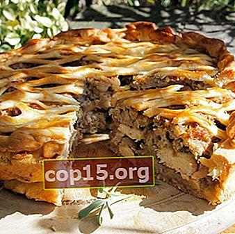 Cottura con funghi: ricette per torte, pane e altri prodotti