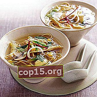 Zuppe di spaghetti champignon: ricette per primi piatti