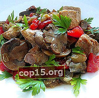 Ricette di maiale con funghi e patate
