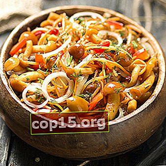Come marinare i funghi al miele con l'aglio: ricette di cucina