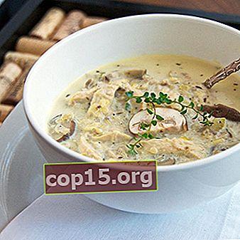 Ricette per zuppe di funghi porcini con orzo