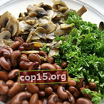 Fasta bönorätter med svamp